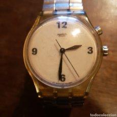Relojes - Swatch: ANTIGUO RELOJ SWATCH UNISEX. CON CORREA ELÁSTICA.. Lote 115269871