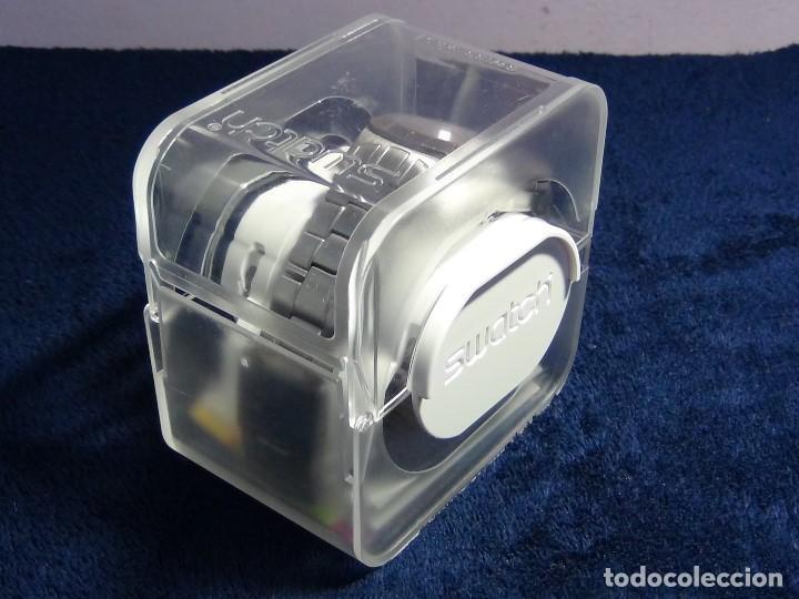 Relojes - Swatch: Reloj SWATCH IN A BURGUNDY MODE YTS405G - Con caja e instrucciones - Foto 7 - 115389547