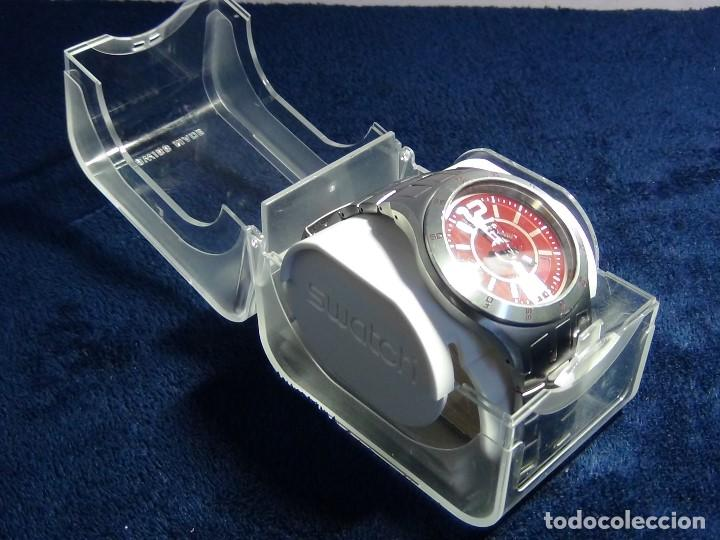 Relojes - Swatch: Reloj SWATCH IN A BURGUNDY MODE YTS405G - Con caja e instrucciones - Foto 9 - 115389547
