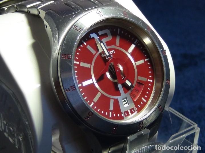 Relojes - Swatch: Reloj SWATCH IN A BURGUNDY MODE YTS405G - Con caja e instrucciones - Foto 11 - 115389547