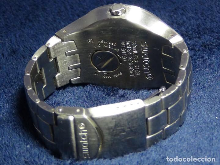 Relojes - Swatch: Reloj SWATCH IN A BURGUNDY MODE YTS405G - Con caja e instrucciones - Foto 14 - 115389547