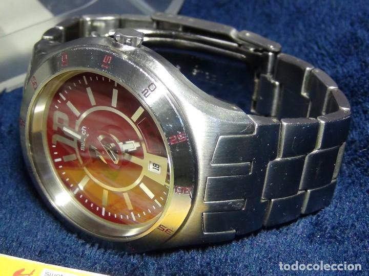 Relojes - Swatch: Reloj SWATCH IN A BURGUNDY MODE YTS405G - Con caja e instrucciones - Foto 18 - 115389547