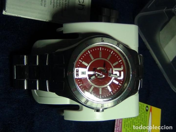 Relojes - Swatch: Reloj SWATCH IN A BURGUNDY MODE YTS405G - Con caja e instrucciones - Foto 19 - 115389547