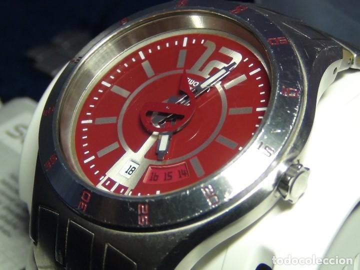 Relojes - Swatch: Reloj SWATCH IN A BURGUNDY MODE YTS405G - Con caja e instrucciones - Foto 23 - 115389547
