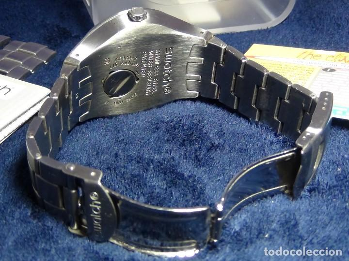 Relojes - Swatch: Reloj SWATCH IN A BURGUNDY MODE YTS405G - Con caja e instrucciones - Foto 24 - 115389547