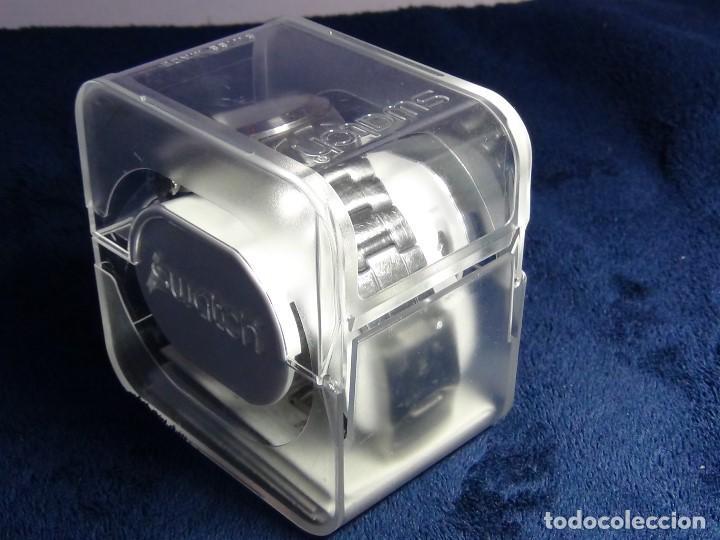 Relojes - Swatch: Reloj SWATCH IN A BURGUNDY MODE YTS405G - Con caja e instrucciones - Foto 29 - 115389547
