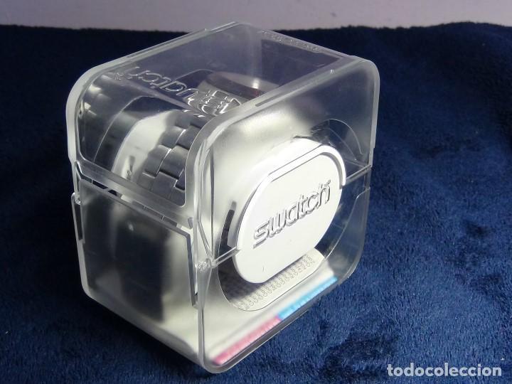 Relojes - Swatch: Reloj SWATCH IN A BURGUNDY MODE YTS405G - Con caja e instrucciones - Foto 30 - 115389547