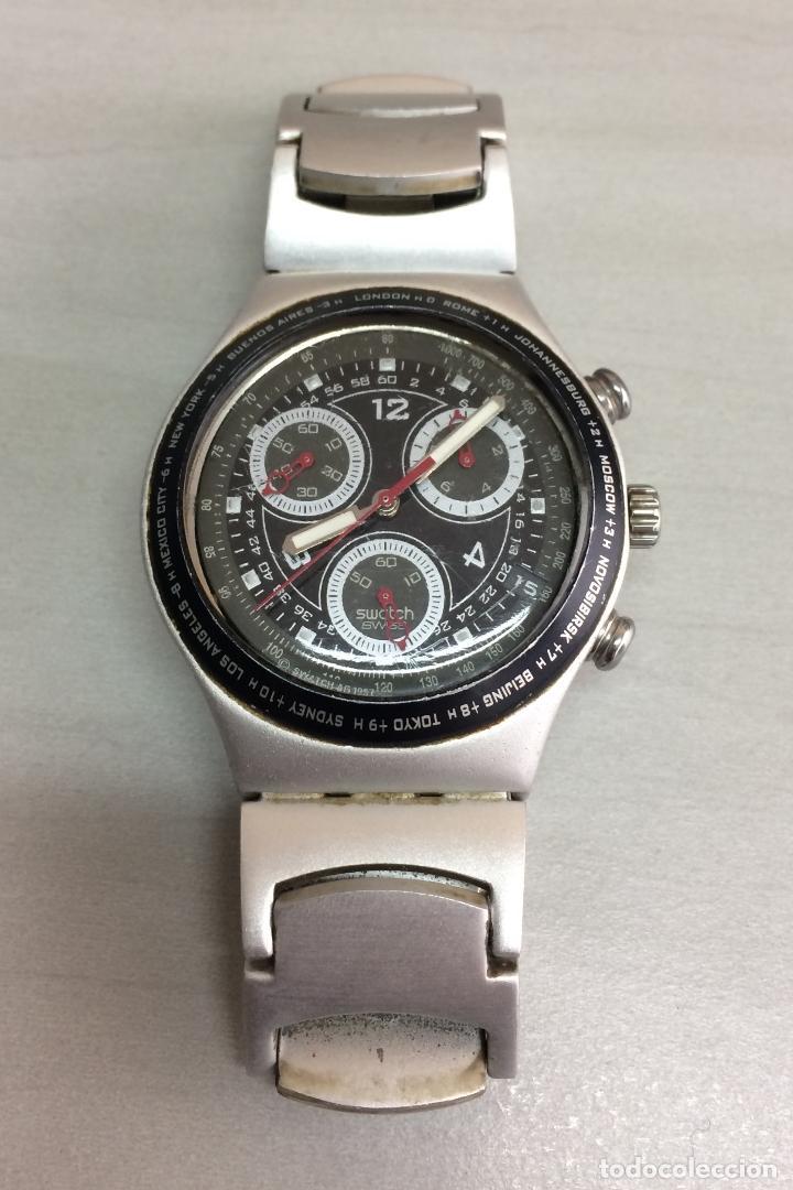 RELOJ SWATCH - IRONY ALUMINIUM CHRONO (Relojes - Relojes Actuales - Swatch)