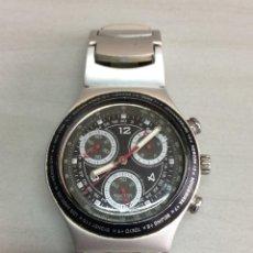 Relojes - Swatch: RELOJ SWATCH - IRONY ALUMINIUM CHRONO. Lote 116451743
