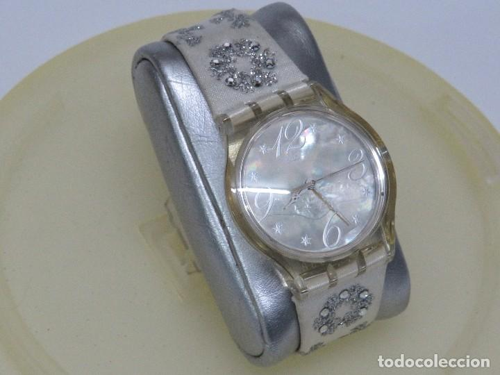 SWATCH ESPECIAL NAVIDAD 2006 SUJZ-100-S ARTIC TOUCH (Relojes - Relojes Actuales - Swatch)