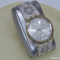 Relojes - Swatch: SWATCH ESPECIAL NAVIDAD 2006 SUJZ-100-S ARTIC TOUCH. Lote 118733675