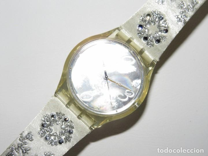 Relojes - Swatch: SWATCH ESPECIAL NAVIDAD 2006 SUJZ-100-S ARTIC TOUCH - Foto 3 - 118733675