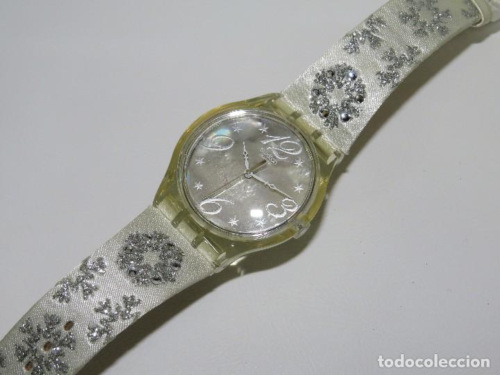 Relojes - Swatch: SWATCH ESPECIAL NAVIDAD 2006 SUJZ-100-S ARTIC TOUCH - Foto 4 - 118733675
