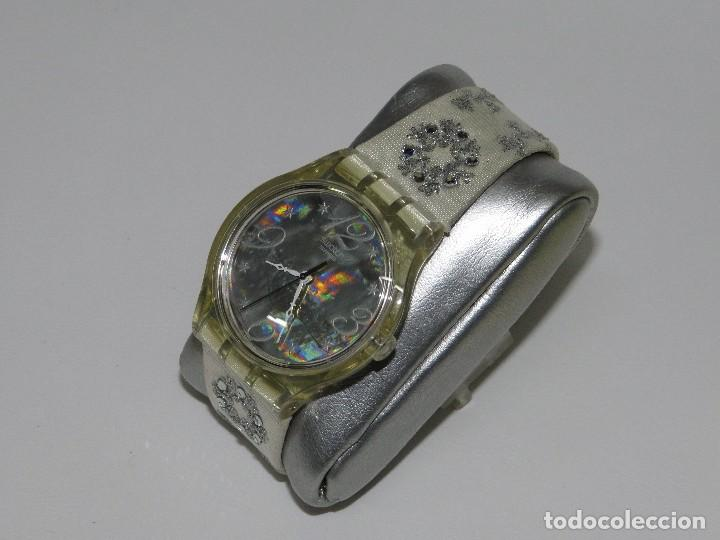 Relojes - Swatch: SWATCH ESPECIAL NAVIDAD 2006 SUJZ-100-S ARTIC TOUCH - Foto 8 - 118733675