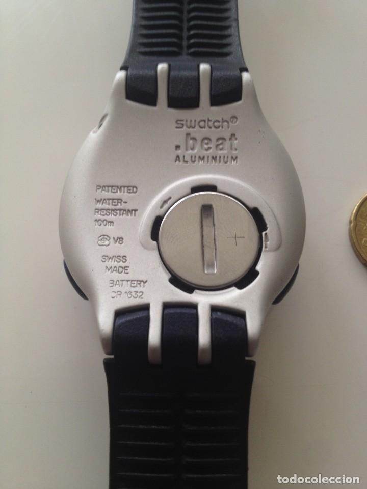 Relojes - Swatch: Reloj Swatch Beat Aluminium (1999) - Foto 2 - 119612487