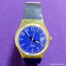 Relojes - Swatch: RELOJ DE PULSERA SWATCH SWISS. EN FUNCIONAMIENTO. UNISEX. MUJER. CABALLERO. Lote 120917699