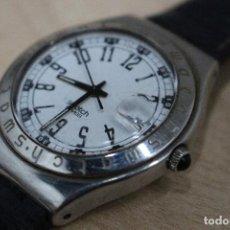 Relojes - Swatch: SWATCH AG 1994, ACERO INOXIDABLE PATENTADO/ RESISTENTE AL AGUA / EN FUNCIONAMIENTO CORREA ORIGINAL.. Lote 121281903