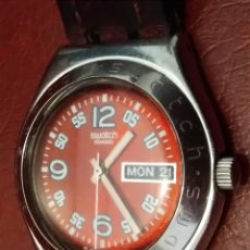 Relojes - Swatch: RELOJ (SWATCH-IRONI.. SWISS MADE.. WATER-RESISTANT) PILA RECIÉN CAMBIADA. SIEMPRE EN CAJÓN. . Lote 121610219