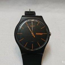 Relojes - Swatch: RELOJ SWATCH DARK REBEL. Lote 122482443