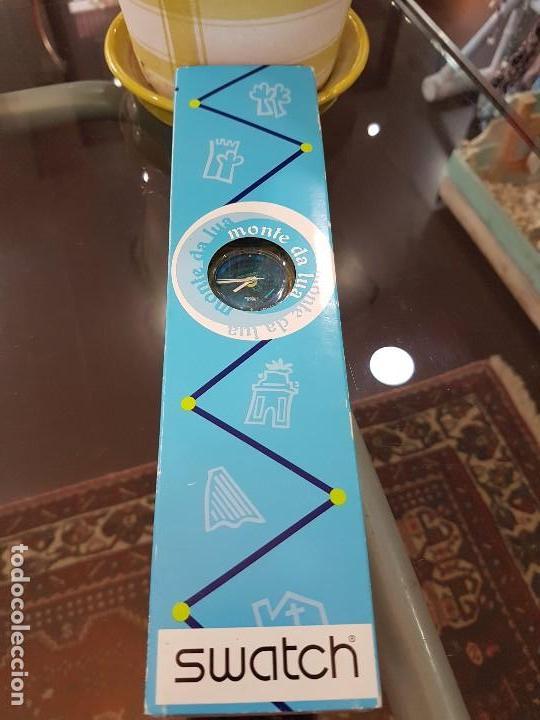 Relojes - Swatch: Reloj Swatch Monte da Lua, con caja original y certificado de compra. - Foto 2 - 124922087