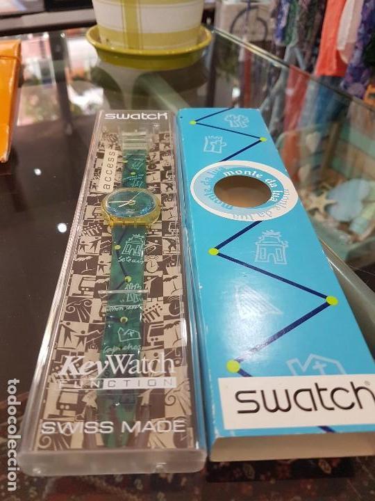 Relojes - Swatch: Reloj Swatch Monte da Lua, con caja original y certificado de compra. - Foto 3 - 124922087
