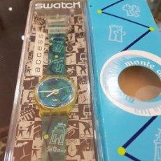 Relojes - Swatch: RELOJ SWATCH MONTE DA LUA, CON CAJA ORIGINAL Y CERTIFICADO DE COMPRA.. Lote 124922087