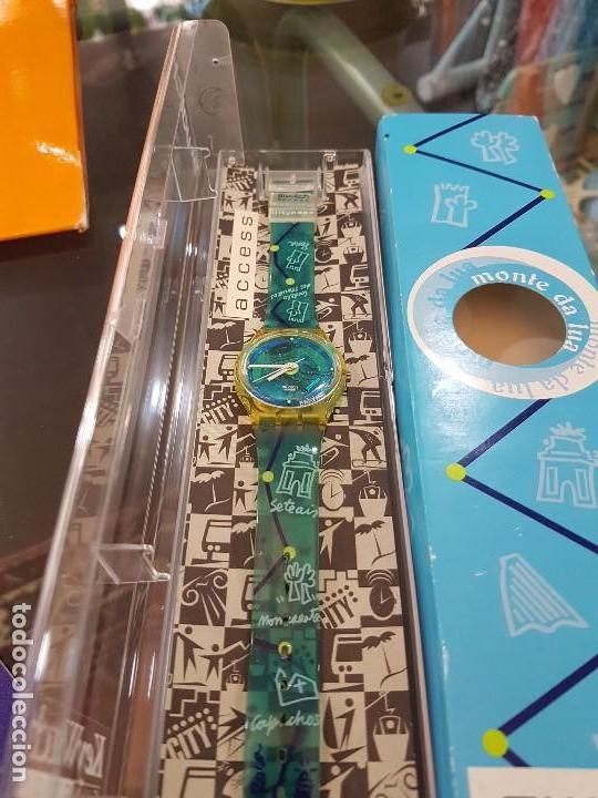Relojes - Swatch: Reloj Swatch Monte da Lua, con caja original y certificado de compra. - Foto 4 - 124922087