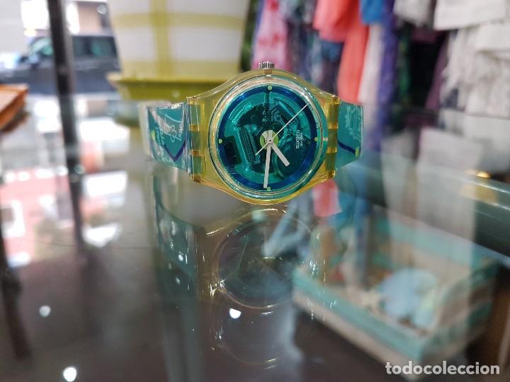 Relojes - Swatch: Reloj Swatch Monte da Lua, con caja original y certificado de compra. - Foto 5 - 124922087