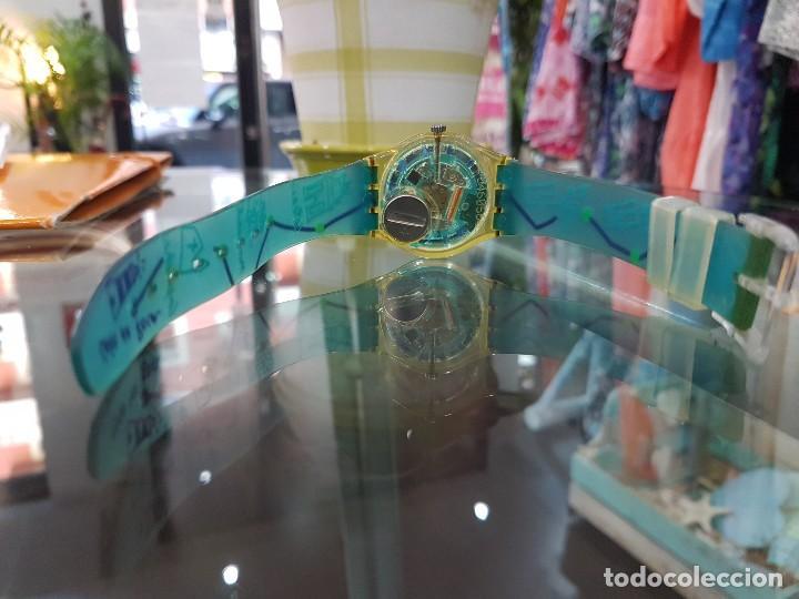 Relojes - Swatch: Reloj Swatch Monte da Lua, con caja original y certificado de compra. - Foto 7 - 124922087