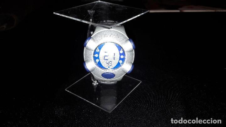 IMPRESIONANTE SWATCH BEAT ALUMINIUM CON ARMIS DE ALUMINIO FUNCIONANDO (Relojes - Relojes Actuales - Swatch)