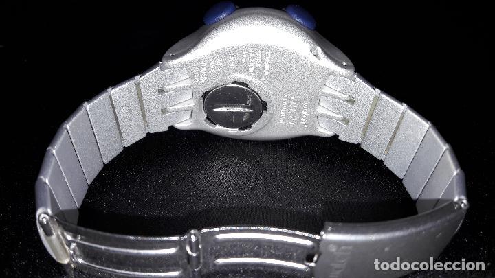 Relojes - Swatch: impresionante swatch beat aluminium con armis de aluminio funcionando - Foto 2 - 125232755
