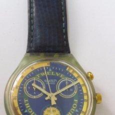 Relojes - Swatch: RELOJ CRONÓGRAFO SWATCH DE CUARZO. Lote 126658987