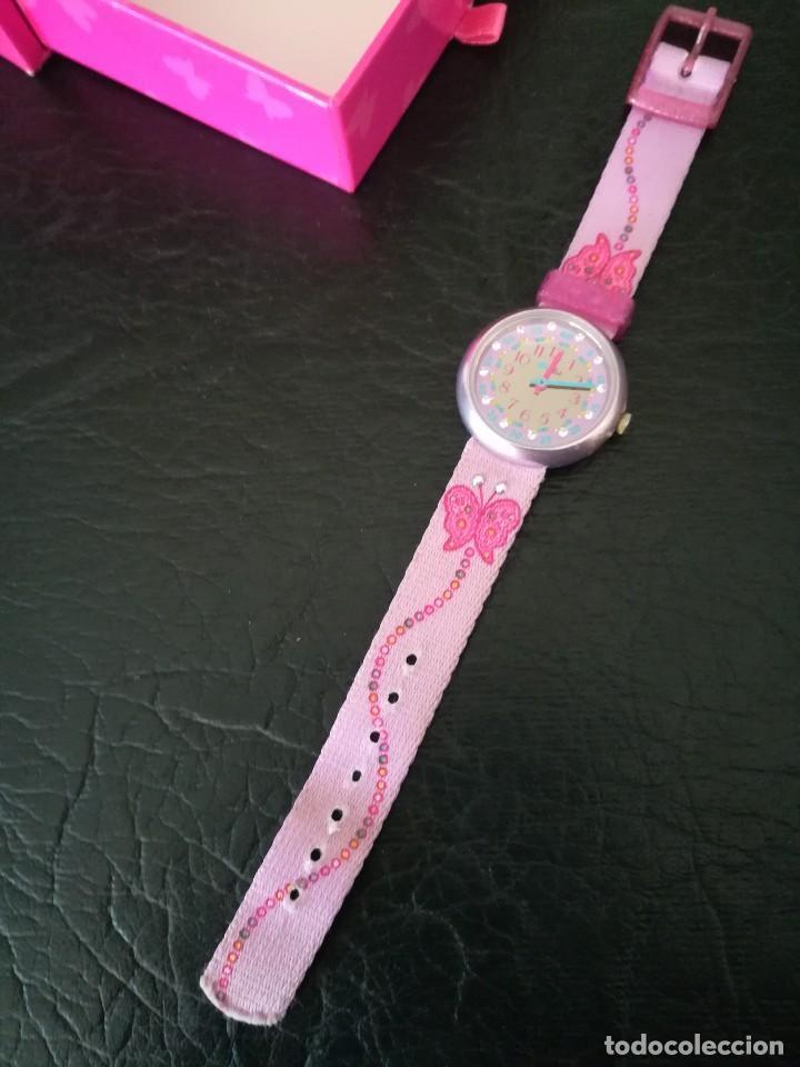 Relojes - Swatch: RELOJ FLIK FLAK (SWATCH infantil) con estuche joyero original - Foto 4 - 127582331