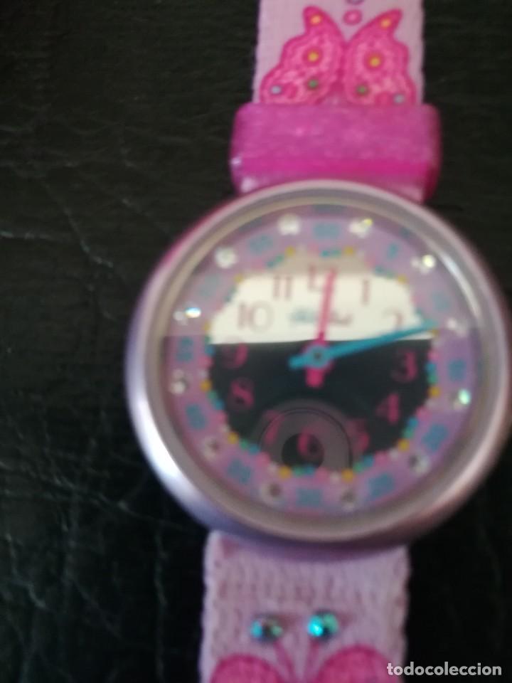 Relojes - Swatch: RELOJ FLIK FLAK (SWATCH infantil) con estuche joyero original - Foto 6 - 127582331