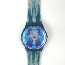 Relojes - Swatch: RELOJ SWATCH. EDICIÓN NUMERADA. SILVIE Y CHERIF DEFRAOUI. SUIZA. 1991.. Lote 127617031