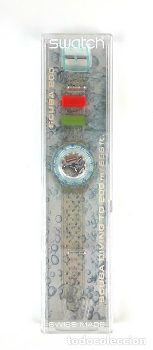 Relojes - Swatch: RELOJ SWATCH. SCUBA 200. JELLY BUBBLES SDK104. SUIZA. 1991. - Foto 3 - 151096204