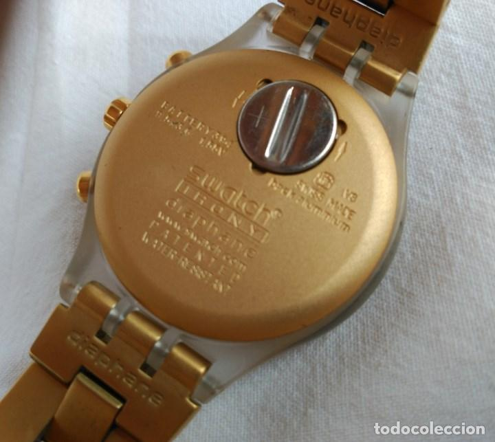Relojes - Swatch: RELOJ SWATCH IRONY DIAPHANE, CRONÓGRAFO, CALENDARIO. - Foto 2 - 128089187