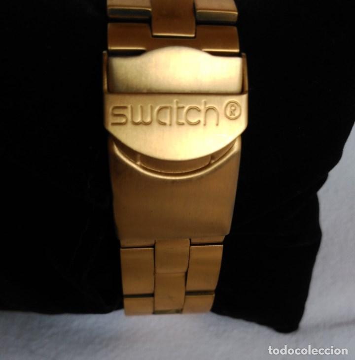 Relojes - Swatch: RELOJ SWATCH IRONY DIAPHANE, CRONÓGRAFO, CALENDARIO. - Foto 3 - 128089187