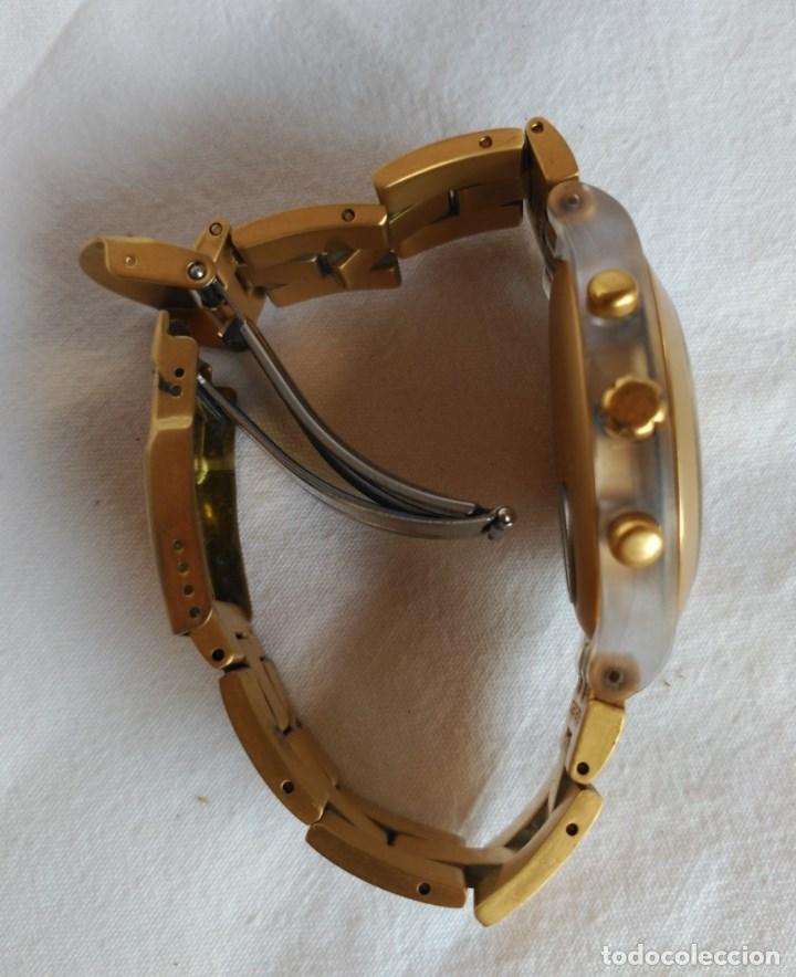 Relojes - Swatch: RELOJ SWATCH IRONY DIAPHANE, CRONÓGRAFO, CALENDARIO. - Foto 4 - 128089187