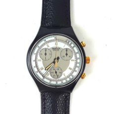 Relojes - Swatch: RELOJ SWATCH CHRONO COLOSSAL SCB 109. SUIZA. 1992.. Lote 128407687