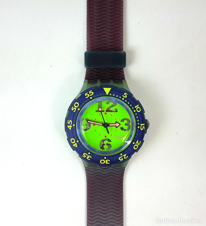 RELOJ SWATCH. COMING MAE SON 100. SUIZA. CIRCA 1990. (Relojes - Relojes Actuales - Swatch)