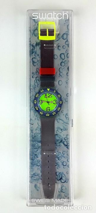 Relojes - Swatch: RELOJ SWATCH. COMING MAE SON 100. SUIZA. CIRCA 1990. - Foto 2 - 198023281