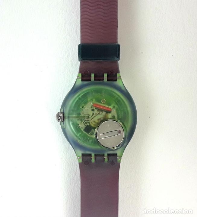 Relojes - Swatch: RELOJ SWATCH. COMING MAE SON 100. SUIZA. CIRCA 1990. - Foto 4 - 198023281