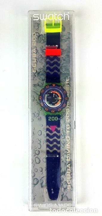 Relojes - Swatch: RELOJ SWATCH. SCUBA 200. SPRAY UP SAN 103. SUIZA. 1992. - Foto 2 - 128410803