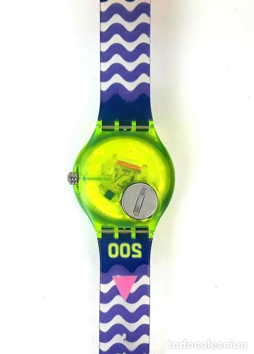 Relojes - Swatch: RELOJ SWATCH. SCUBA 200. SPRAY UP SAN 103. SUIZA. 1992. - Foto 4 - 128410803