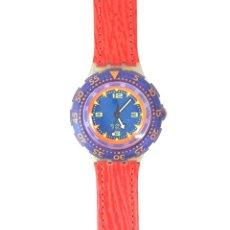 Relojes - Swatch: RELOJ SWATCH. SCUBA 200. RED ISLAND SDK 106. SUIZA. 1992.. Lote 128413391