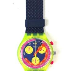 Relojes - Swatch: RELOJ SWATCH. CHRONO. GRAND PRIX SCJ 101. SUIZA. 1992.. Lote 128414387