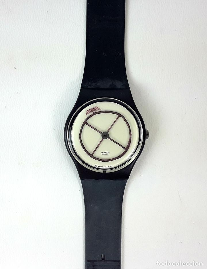 RELOJ SWATCH. NUMBERED EDITION. NOT VITAL. WEEL ANIMAL. SUIZA. 1991. (Relojes - Relojes Actuales - Swatch)