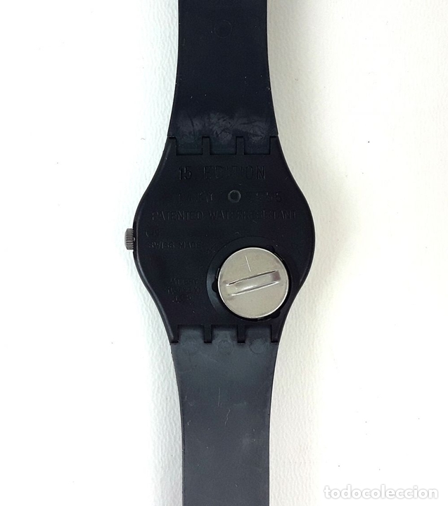 Relojes - Swatch: RELOJ SWATCH. NUMBERED EDITION. NOT VITAL. WEEL ANIMAL. SUIZA. 1991. - Foto 3 - 128445747