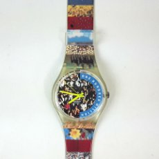 Relojes - Swatch: RELOJ SWATCH. ONE HUNDRED MILLION. PEOPLE G7 126. SUIZA. 1992.. Lote 128450339